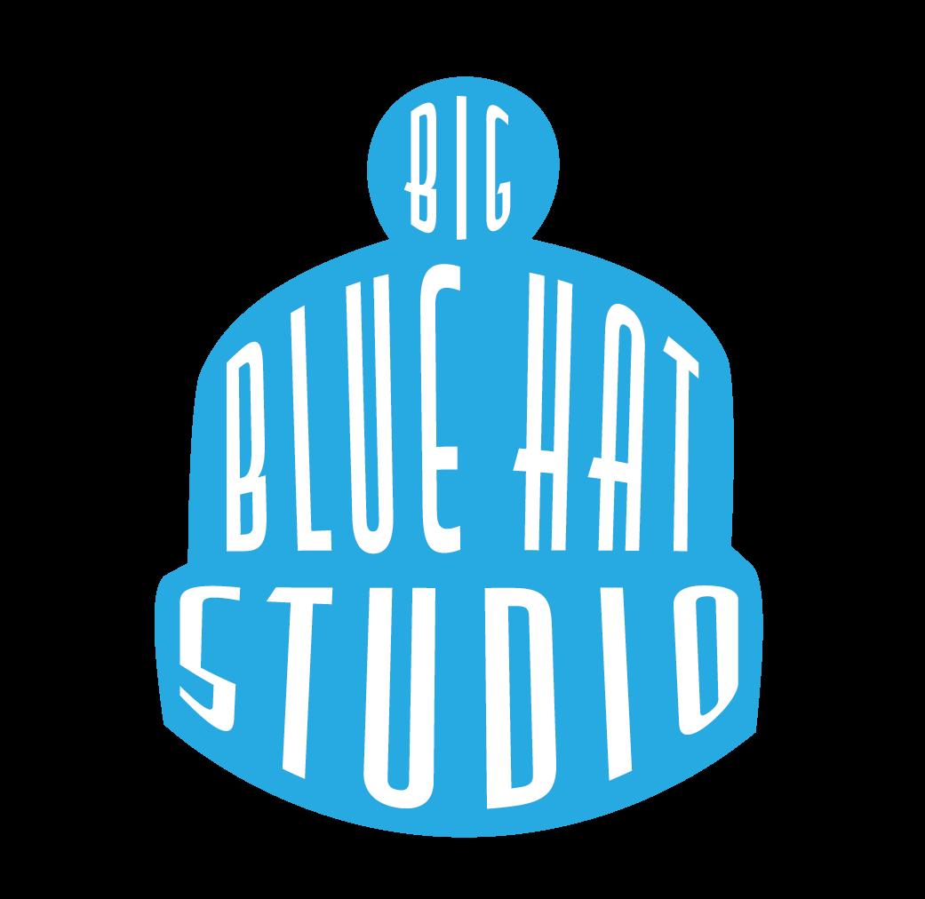 Big Blue Hat